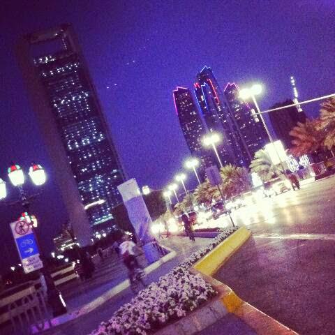 Εφτά βράδια στο Abu Dhabi.