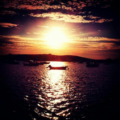Ηλιοβασίλεμα στην Αλυκή!