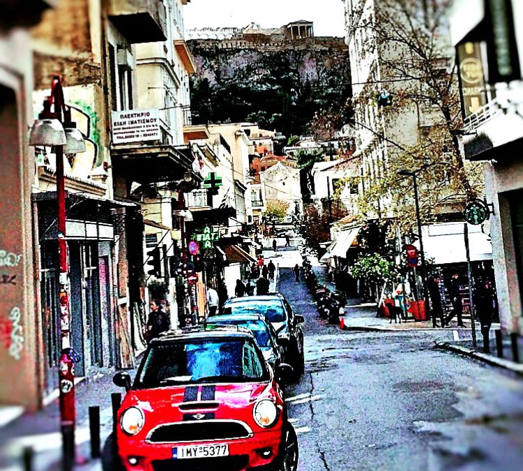 Βόλτα στην Αθήνα που αγαπώ