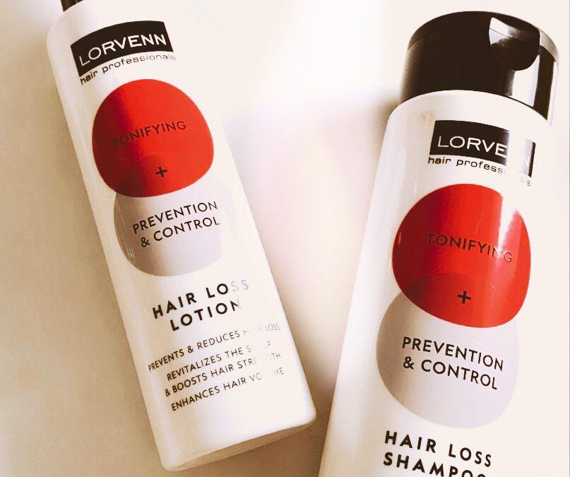 Δύο αποτελεσματικά προϊόντα κατά της τριχόπτωσης παρουσιάζονται από τη Lorvenn για όμορφα και υγιή μαλλιά.